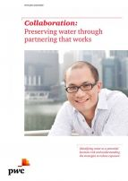 Preserving water through partnering