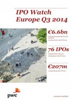 IPO Watch Europe Drittes Quartal 2014