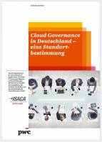 Cloud Governance in Deutschland