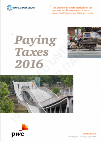 Paying Taxes 2016