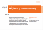 10 Minutes The Future of lessee accounting