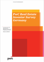 PwC Real Estate Investor Survey Germany